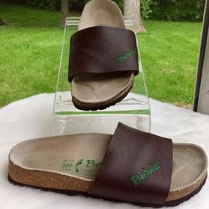 Birkenstock Womens Betula Slide Sandals Sz 7 Brown